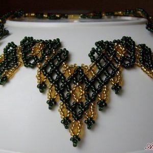 Zöld – Arany ukrán nyakék