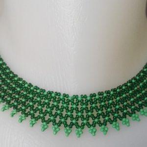 Sötétzöld – Zöld tászli